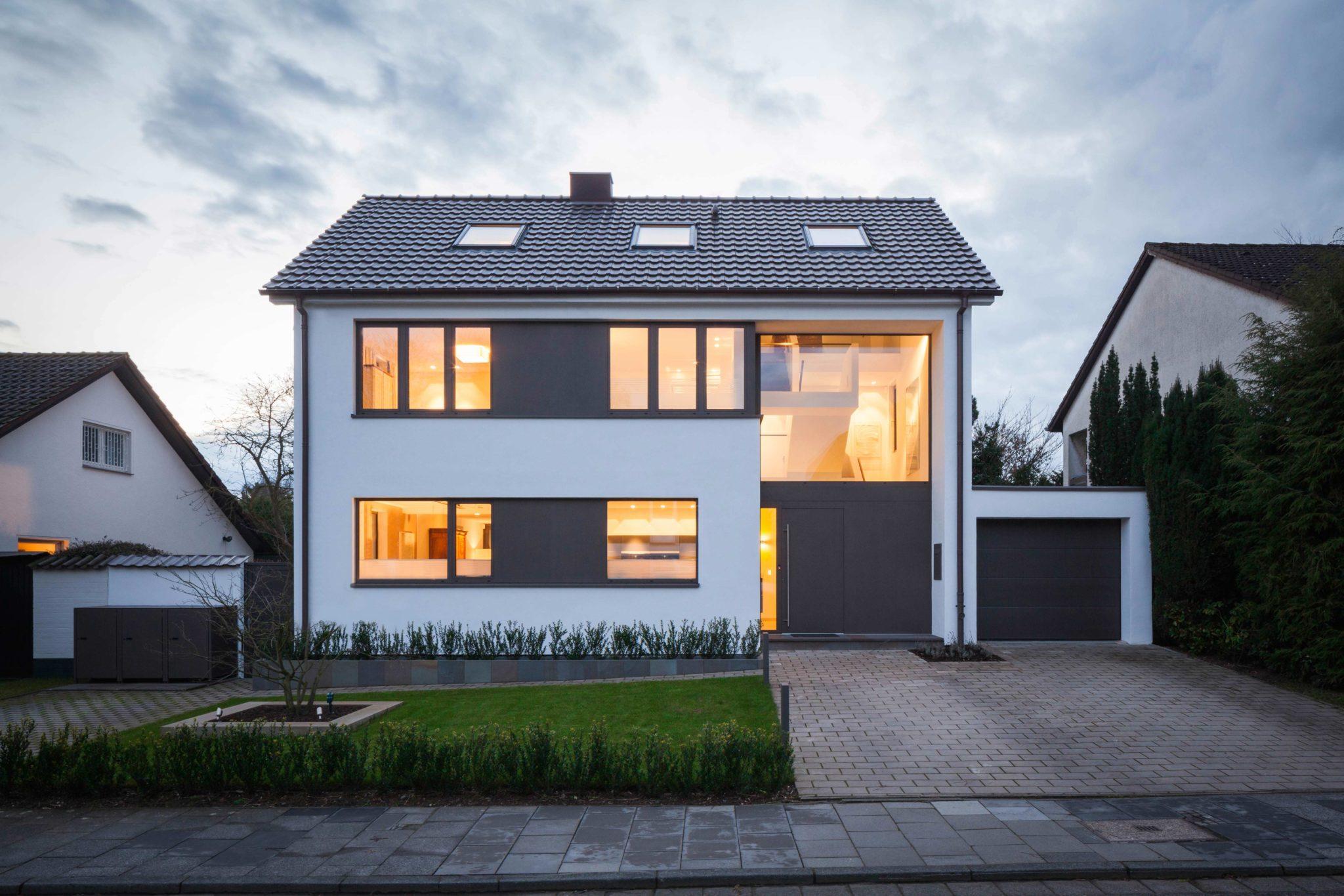 aufstockung einfamilienhaus wilkin hanrath bauphasen. Black Bedroom Furniture Sets. Home Design Ideas