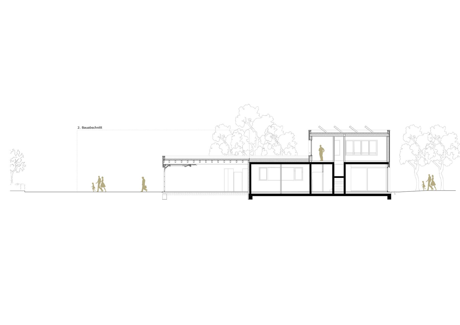 Passivhaus in Hybridbauweise | Wilkin & Hanrath Bauphasen